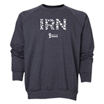Iran 2014 FIFA World Cup Brazil(TM) Men's Elements Crewneck Sweatshirt (Dark Grey)