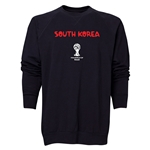 South Korea 2014 FIFA World Cup Brazil(TM) Men's Core Crewneck Sweatshirt (Black)