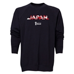 Japan 2014 FIFA World Cup Brazil(TM) Men's Palm Crewneck Sweatshirt (Black)