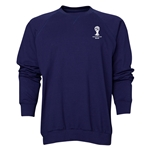 2014 FIFA World Cup Brazil(TM) Men's Official Emblem Crewneck Sweatshirt (Navy)