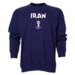 Iran 2014 FIFA World Cup Brazil(TM) Men's Core Crewneck Sweatshirt (Navy)