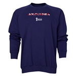 South Korea 2014 FIFA World Cup Brazil(TM) Men's Palm Crewneck Sweatshirt (Navy)