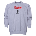 Iran 2014 FIFA World Cup Brazil(TM) Men's Core Crewneck Sweatshirt (Grey)