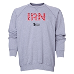 Iran 2014 FIFA World Cup Brazil(TM) Men's Elements Crewneck Sweatshirt (Grey)