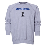 South Korea 2014 FIFA World Cup Brazil(TM) Men's Core Crewneck Sweatshirt (Grey)