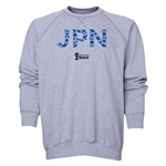 Japan 2014 FIFA World Cup Brazil(TM) Men's Elements Crewneck Sweatshirt (Grey)