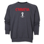 Croatia 2014 FIFA World Cup Brazil(TM) Core Crewneck Fleece (Dark Grey)