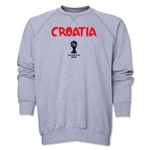Croatia 2014 FIFA World Cup Brazil(TM) Core Crewneck Fleece (Grey)