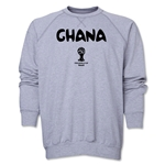 Ghana 2014 FIFA World Cup Brazil(TM) Core Crewneck Fleece (Grey)