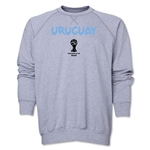 Uruguay 2014 FIFA World Cup Brazil(TM) Core Crewneck Fleece (Grey)