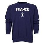 France 2014 FIFA World Cup Brazil(TM) Core Crewneck Fleece (Navy)