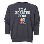 FIFA Women's World Cup Canada 2015(TM).Core Crewneck Fleece (Dark Grey)