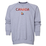 Canada FIFA Women's World Cup Canada 2015(TM) Crewneck Fleece (Grey)