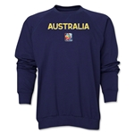 Australia FIFA Women's World Cup Canada 2015(TM) Crewneck Fleece (Navy)