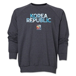South Korea FIFA Women's World Cup Canada 2015(TM) Crewneck Fleece (Dark Grey)