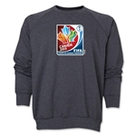 FIFA Women's World Cup Canada 2015(TM).French Core Crewneck Fleece (Dark Grey)