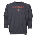 Switzerland FIFA Women's World Cup Canada 2015(TM) Crewneck Fleece (Dark Grey)