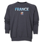 France FIFA Women's World Cup Canada 2015(TM) Crewneck Fleece (Dark Grey)