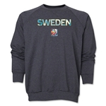 Sweden FIFA Women's World Cup Canada 2015(TM) Crewneck Fleece (Dark Grey)