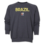 Brazil FIFA Women's World Cup Canada 2015(TM) Crewneck Fleece (Dark Grey)