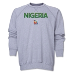 Nigeria FIFA Women's World Cup Canada 2015(TM) Crewneck Fleece (Grey)