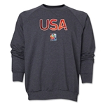 USA FIFA Women's World Cup Canada 2015(TM) Crewneck Fleece (Dark Grey)