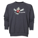 FIFA Women's World Cup Canada 2015(TM) Mascot Pose 2 Crewneck Fleece (Dark Grey)