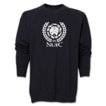 Newcastle United Distressed Crewneck Sweatshirt (Black)