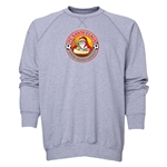 FC Santa Claus Core Men's Crewneck Fleece (Gray)