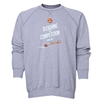 FC Santa Claus Sleighing the Competition Men's Crewneck Fleece (Gray)