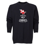FC Santa Claus Milk and Cookies Men's Crewneck Fleece (Black)
