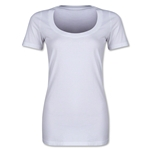 Women's Scoopneck T-Shirt (White)