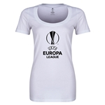 UEFA Europa League Women's Scoopneck T-Shirt (White)