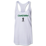 Cameroon 2014 FIFA World Cup Brazil(TM) Core Racerbank Tank Top (White)