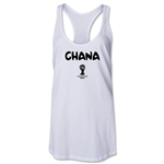 Ghana 2014 FIFA World Cup Brazil(TM) Core Racerbank Tank Top (White)