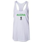 Algeria 2014 FIFA World Cup Brazil(TM) Core Racerbank Tank Top (White)