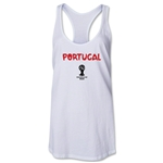 Portugal 2014 FIFA World Cup Brazil(TM) Core Racerback Tank Top (White)
