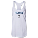 France 2014 FIFA World Cup Brazil(TM) Core Racerbank Tank Top (White)
