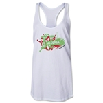 Algeria 2014 FIFA World Cup Brazil(TM) Celebration Racerback Tank Top (White)