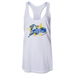 Bosnia-Herzegovina 2014 FIFA World Cup Brazil(TM) Celebration Racerback Tank Top (White)