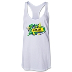 Brazil 2014 FIFA World Cup Brazil(TM) Celebration Racerback Tank Top (White)