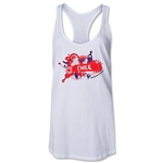 Chile 2014 FIFA World Cup Brazil(TM) Celebration Racerback Tank Top (White)