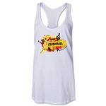 Colombia 2014 FIFA World Cup Brazil(TM) Celebration Racerback Tank Top (White)