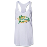 Cote d'Ivoire 2014 FIFA World Cup Brazil(TM) Celebration Racerback Tank Top (White)