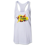 Ecuador 2014 FIFA World Cup Brazil(TM) Celebration Racerback Tank Top (White)