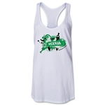 Nigeria 2014 FIFA World Cup Brazil(TM) Celebration Racerback Tank Top (White)