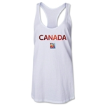 Canada FIFA Women's World Cup Canada 2015(TM) Racerback Tank Top (White)