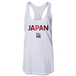 Japan FIFA Women's World Cup Canada 2015(TM) Racerback Tank Top (White)