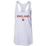 England FIFA Women's World Cup Canada 2015(TM) Racerback Tank Top (White)
