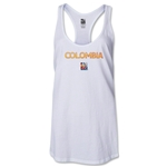 Colombia FIFA Women's World Cup Canada 2015(TM) Racerback Tank Top (White)